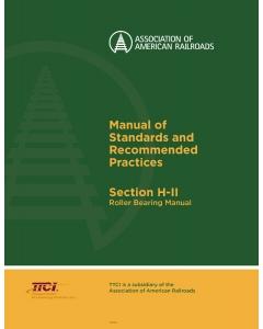 Section H Part II - Roller Bearing Shop Manual (2017)