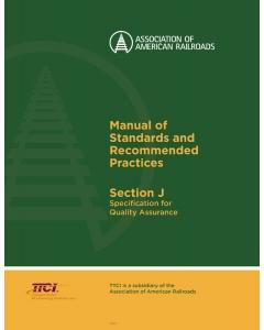 Section J - Quality Assurance M-1003 (2019)
