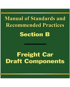 Section B - Freight Car Draft Components (2019)