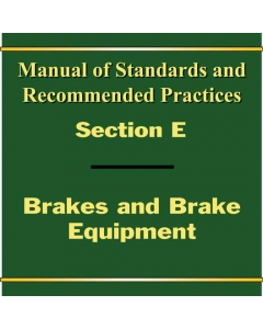 Section E - Brakes and Equipment (2019)