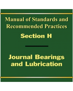 Section H - Bearings and Lubrication Manual (2016)