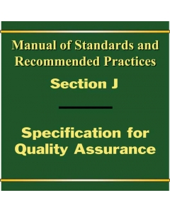Section J - Quality Assurance M-1003 (2019)