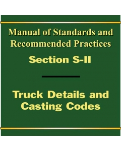 Section S Part II - Truck Details and Casting Codes (2019)